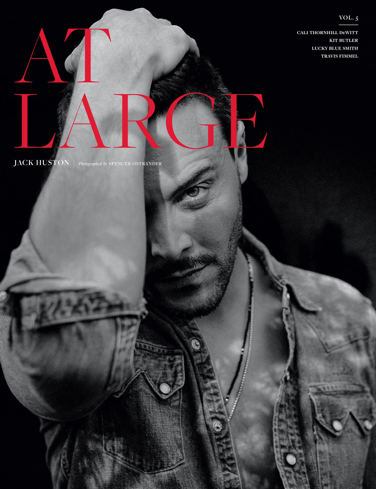 Jack Huston . AtLarge Magazine