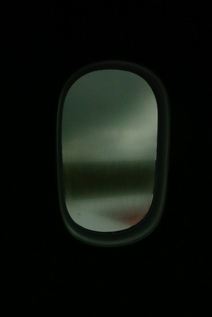 Airplane Window . Nairobi